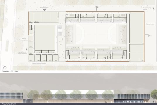 sportzentrum erlangen b19 architekten. Black Bedroom Furniture Sets. Home Design Ideas